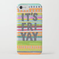 friday iPhone & iPod Cases featuring Friday by Alice Alva