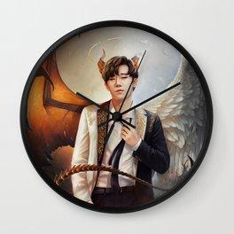 Kim Sunggyu - Demon & Angel Wall Clock