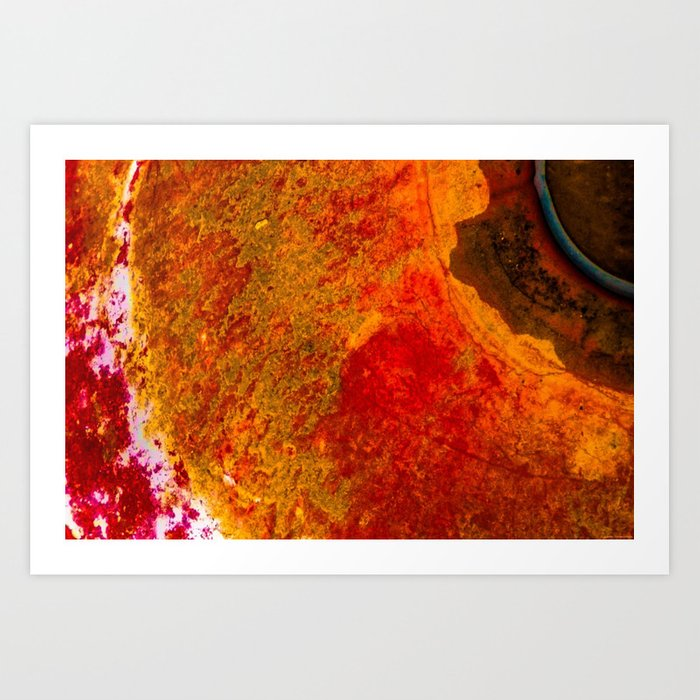 """Orb Burn"" Art Print"