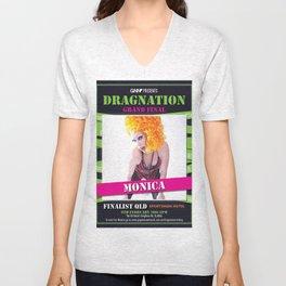 Dragnation Season 1 Monica QLD Unisex V-Neck