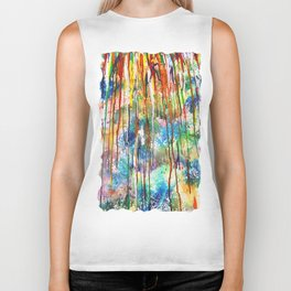 Drip drip drop little April shower Biker Tank