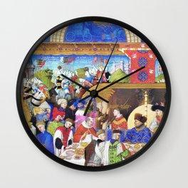 Medieval Banquet Wall Clock