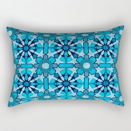 Ocean Mosaic Rectangular Pillow