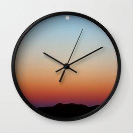 Desert Moon  Wall Clock