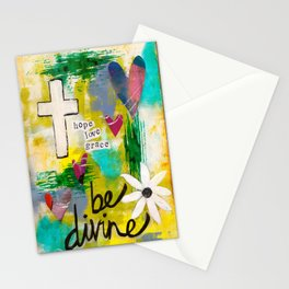 Be Divine Stationery Cards