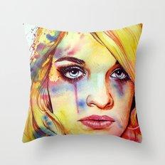 Jemma (VIDEO IN DESCRIPTION!) Throw Pillow