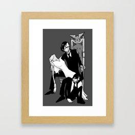 President Pierce Framed Art Print