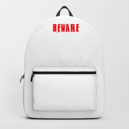 Hallows Eve Hallow Puns Boos Ghost Gift Beware I Bite Halloween Party Backpack