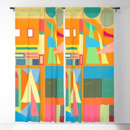 Town Square Blackout Curtain
