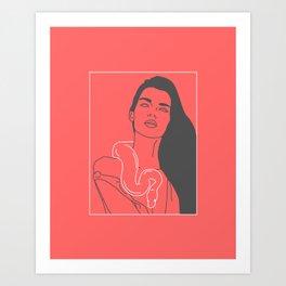 Make You Cry Art Print