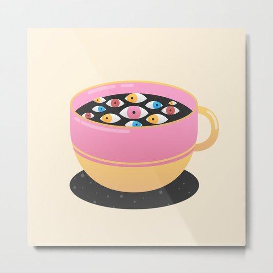 Caffeine Metal Print