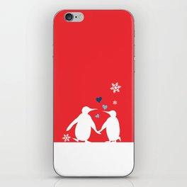 Penguin Couple iPhone Skin