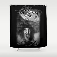 oz Shower Curtains featuring Oz by Magdalena Almero