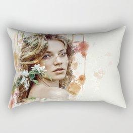 Mina Queen of Spring Rectangular Pillow