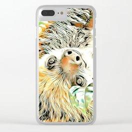 ArtAnimal Sloth II Clear iPhone Case