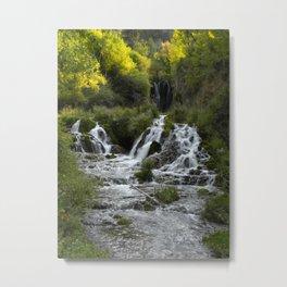 Roughlock Falls, South Dakota Metal Print