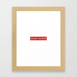 avant garde Framed Art Print