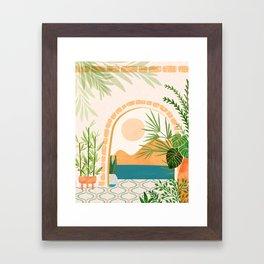 Baja California Villa Framed Art Print