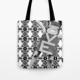 LOVE implosion #9 [invert]  Tote Bag