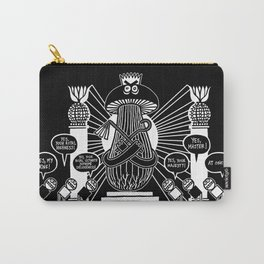 King Mushroom Version 2 Carry-All Pouch