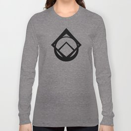 Maker Symbol-Black Long Sleeve T-shirt