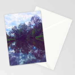 River Reflection Stationery Cards