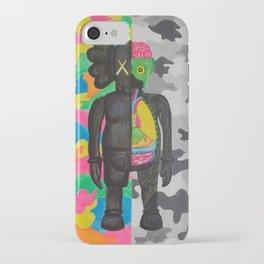 kamo kaws iPhone Case
