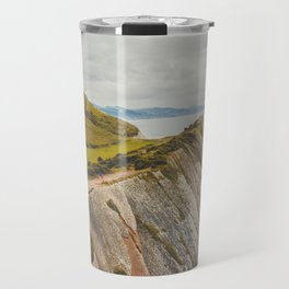 Zumaia mountain Travel Mug