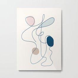 Abstract Movement 08 Metal Print