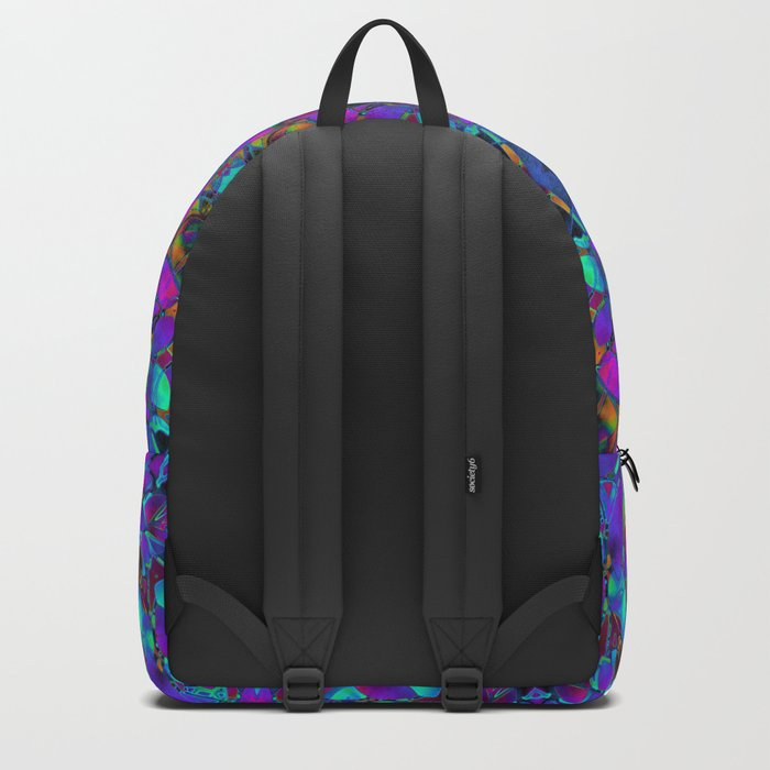 Fractal Floral Abstract G293 Backpack