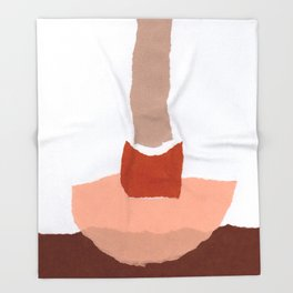 Colores VII Throw Blanket