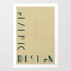 Graphic Design Art Print