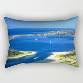 Great Salt Pond, Block Island, Rhode Island Rectangular Pillow