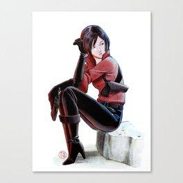Resident Evil - Ada Wong Tribute Canvas Print