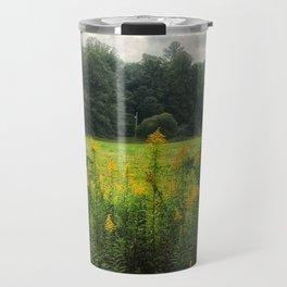 Flowers in a field Travel Mug