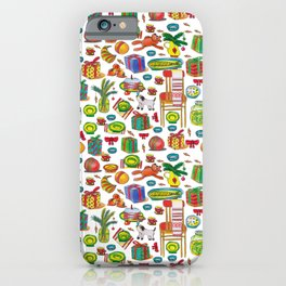 NEY YEAR PATTERN iPhone Case