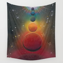 """Cosmic Alignment"" Wall Tapestry"