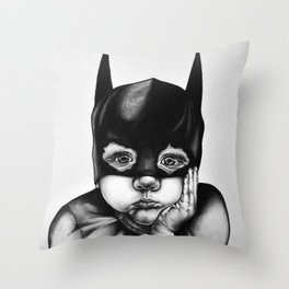 Waiting For a Hero Throw Pillow