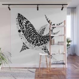 Mr Shark ecopop Wall Mural