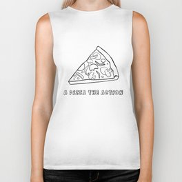 A Pizza The Action Biker Tank