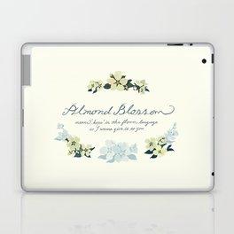 Almond Blossom Laptop & iPad Skin