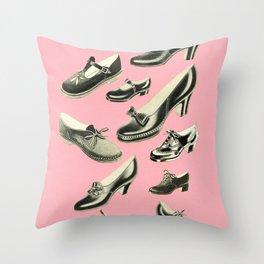 Shoe Fetish Throw Pillow