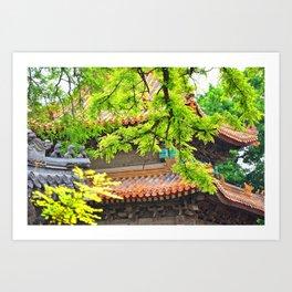 Spring Temple Art Print
