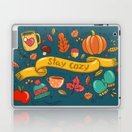 Autumn Is The Time To Stay Cozy Laptop & iPad Skin