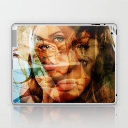 faces of Angelina Jolie3 Laptop & iPad Skin