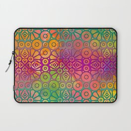 DP050-2 Colorful Moroccan pattern Laptop Sleeve