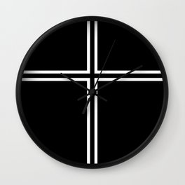 KOF Kyo Kusanagi Cross Wall Clock