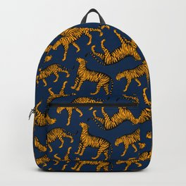 Tigers (Navy Blue and Marigold) Backpack
