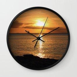 Seduced by the Sun Wall Clock