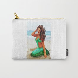 MerMay a day on the beach Carry-All Pouch
